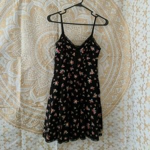F21 floral tank dress with pockets
